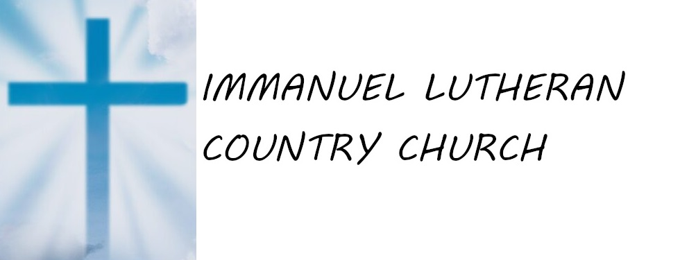 Logo for Immanuel Lutheran Country Church