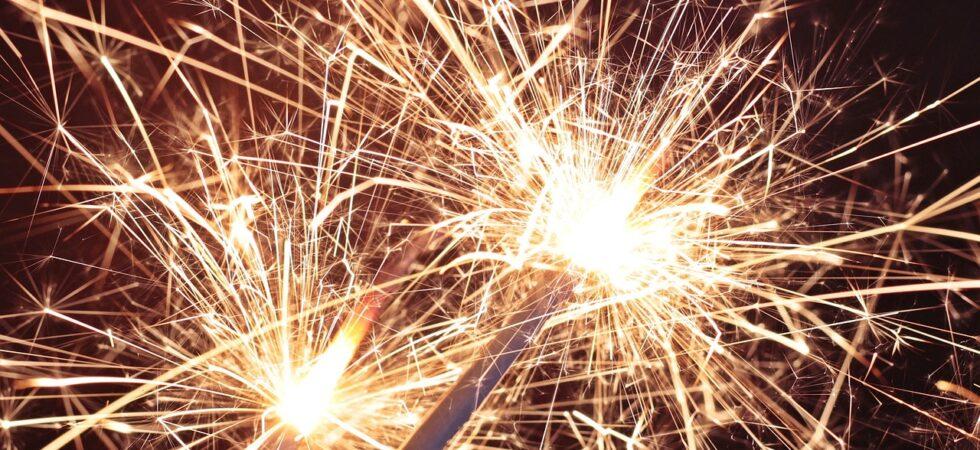 sparkler, star fire, sprühkerze